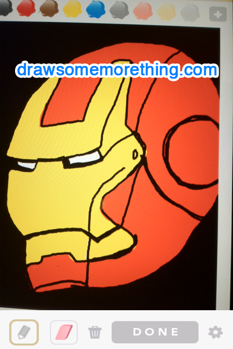 IRONMAN - drawsomemorething.com SOURCE: gunsmoke0309