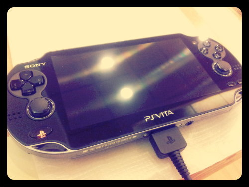PS Vita (Taken with picplz.)