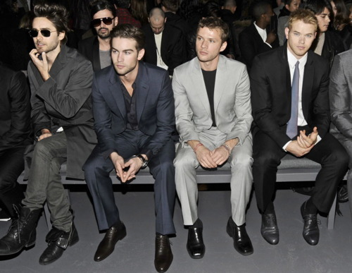 cruascorner:  Jared Letto, Chace Crawford, Ryan Phillipe & Kelan Lutz.. Dayum!
