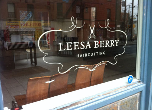 leesa berry haircutting264 dunn avenue(image: blog to, design: leesa berry) september 2011