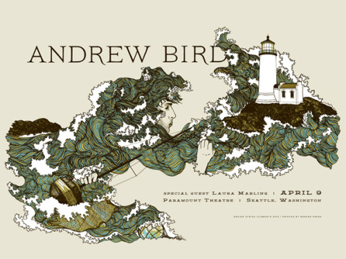 Going to an Andrew Bird show in April! I can't wait!
