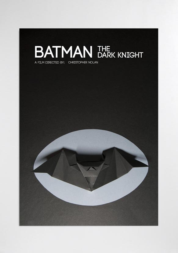 visualgraphic:  Origami Batman