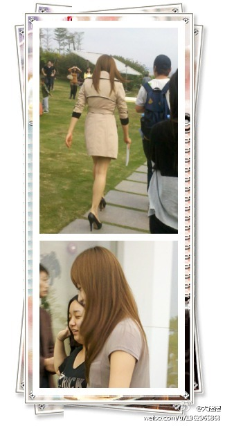[FANTAKEN] 120304 Victoria on Set [13]Please take out with full credits!^^cr. 犬摆摆 | forsongqian-Jillie