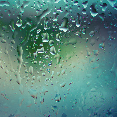 There's pounding rain on my window right now. Welcome, spring showers.