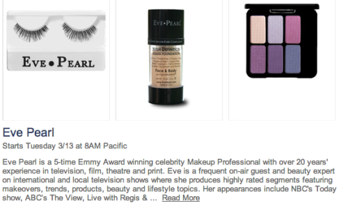50-75% off Eve Pearl makeup starting tomorrow on Hautelook! They have some of THE best concealers out there! I definitely recommend checking them out tomorrow. Until then, NYX Cosmetics is have their sale on Hautelook right now! Click here to sign up for Hautelook or shop if you haven't yet :)