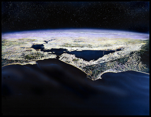 Bay Area from Space (by bennetthall)