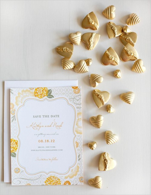 Love this save the date from Wedding paper divas