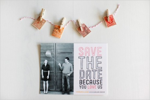 Quirky save the date!