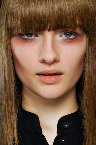 a little death around the eyes Marni A/W 2012 Key Artist: Tom Pecheux