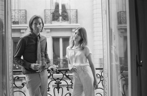A room with a view, and _what_ a view: Wes Anderson and Sofia Coppola.