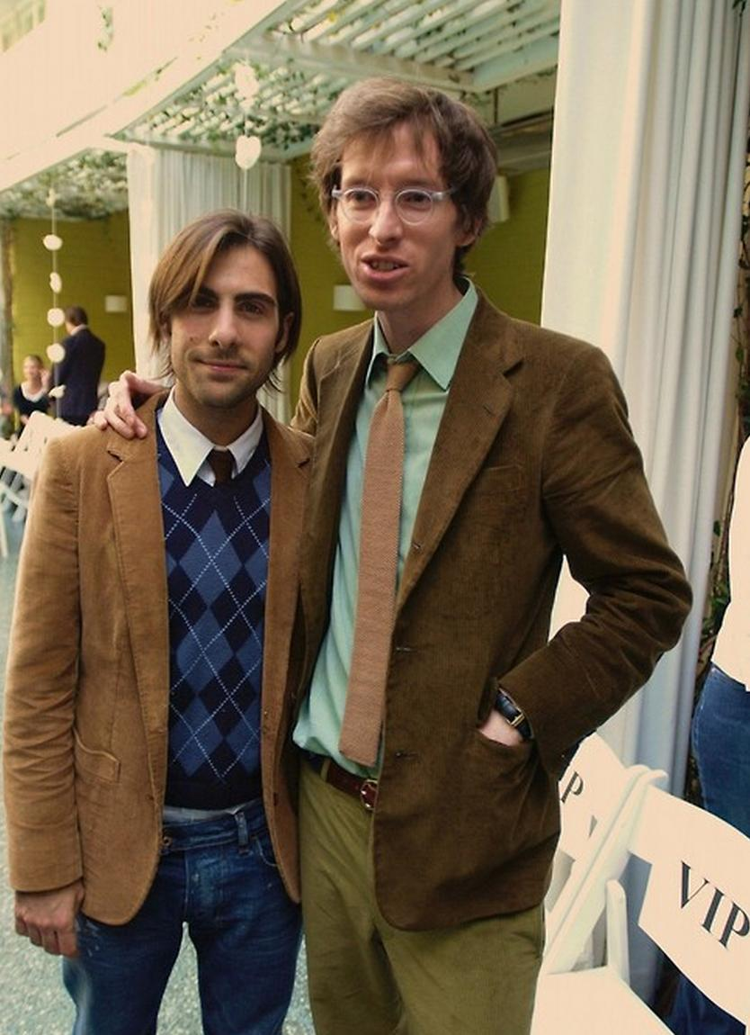 Jason Schwartzman and Wes Anderson.