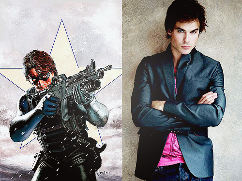 Ian Somerhalder as Winter Soldier Dreamcast
