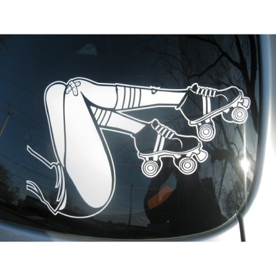 """Roller Derby"" Decal by beepart"
