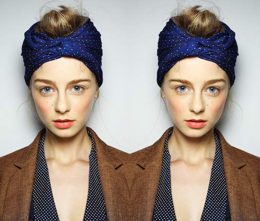 leamonaco:  turban bun.