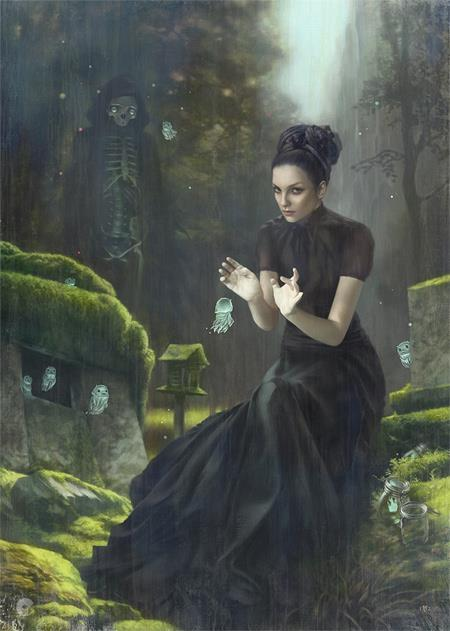 grafnarq:  Tom Bagshaw | The Tallest Tales  3rd piece for the show at Corey Helford Gallery. Show runs till 28th March. Some detail shots on the blog: http://tombagshaw.blogspot.com/2012/03/tallest-tales.html