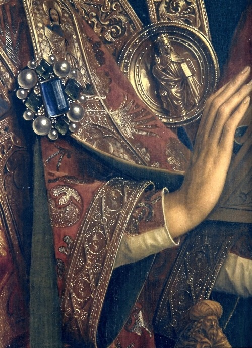 anjanas-closet:  Detail, The Ghent Altarpiece, 1432, Jan van Eyck
