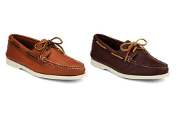 thetieguy:  sperry topsider made in maine.