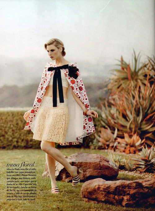 extrasexy:  Angela Lindvall | Jean Francois Campos | Vogue Mexico March 2012