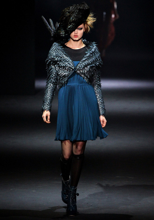 vogue:  John Galliano Fall 2012 Photo: Marcus Tondo/GoRunway.comVisit Vogue.com for the full collection and review.