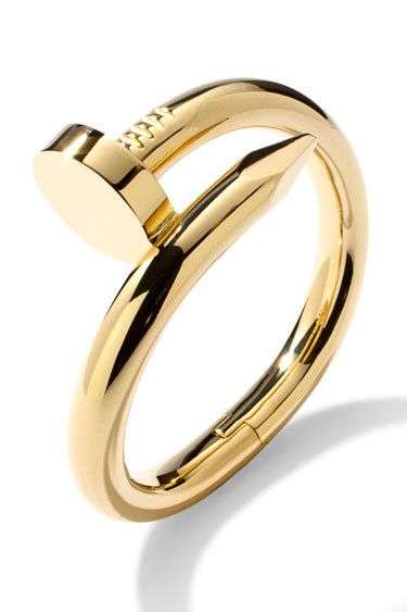 Cartier - Nail Cuff by Aldo Cipullo.