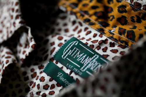 From the jungle series: Gitman Vintage leopard