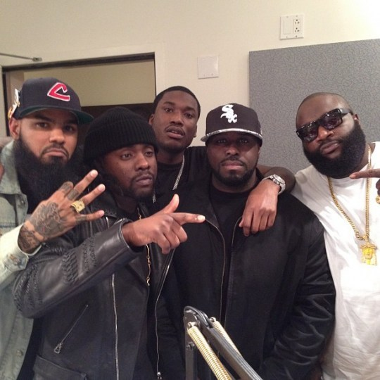 Who or what is Wale looking at?