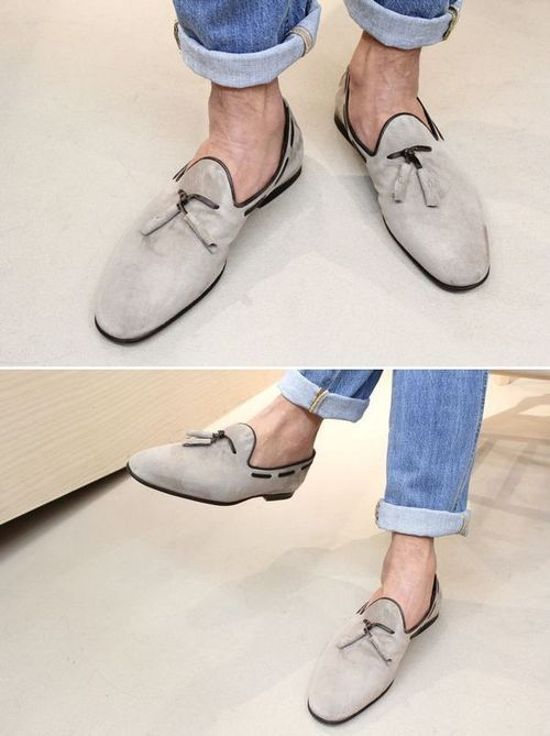 thestylebuff:  Santoni Loafer