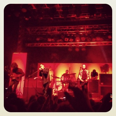 Another snap from The Maccabees on Saturday #themaccabees #leedsacademy #leeds #o2academy #gig #live #music #giventothewild #instagram #instagood #instagreat #instaaa #popular #photooftheday (Taken with Instagram at 02 Academy Leeds)