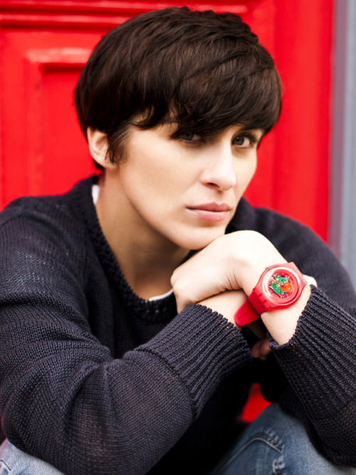 Swatch with a heart Shining star of This is England, Vicky McClure whips out her Swatch and shows us her around her Soho stomping ground here. i-Donline.com