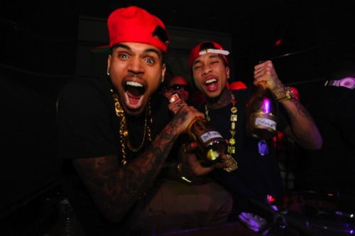 tyga & chris brown