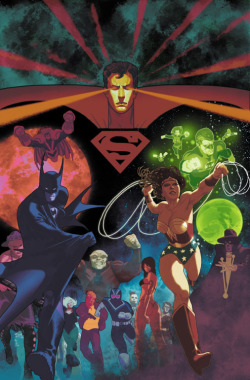 DC Universe by Alan Moore By Frazer Irving