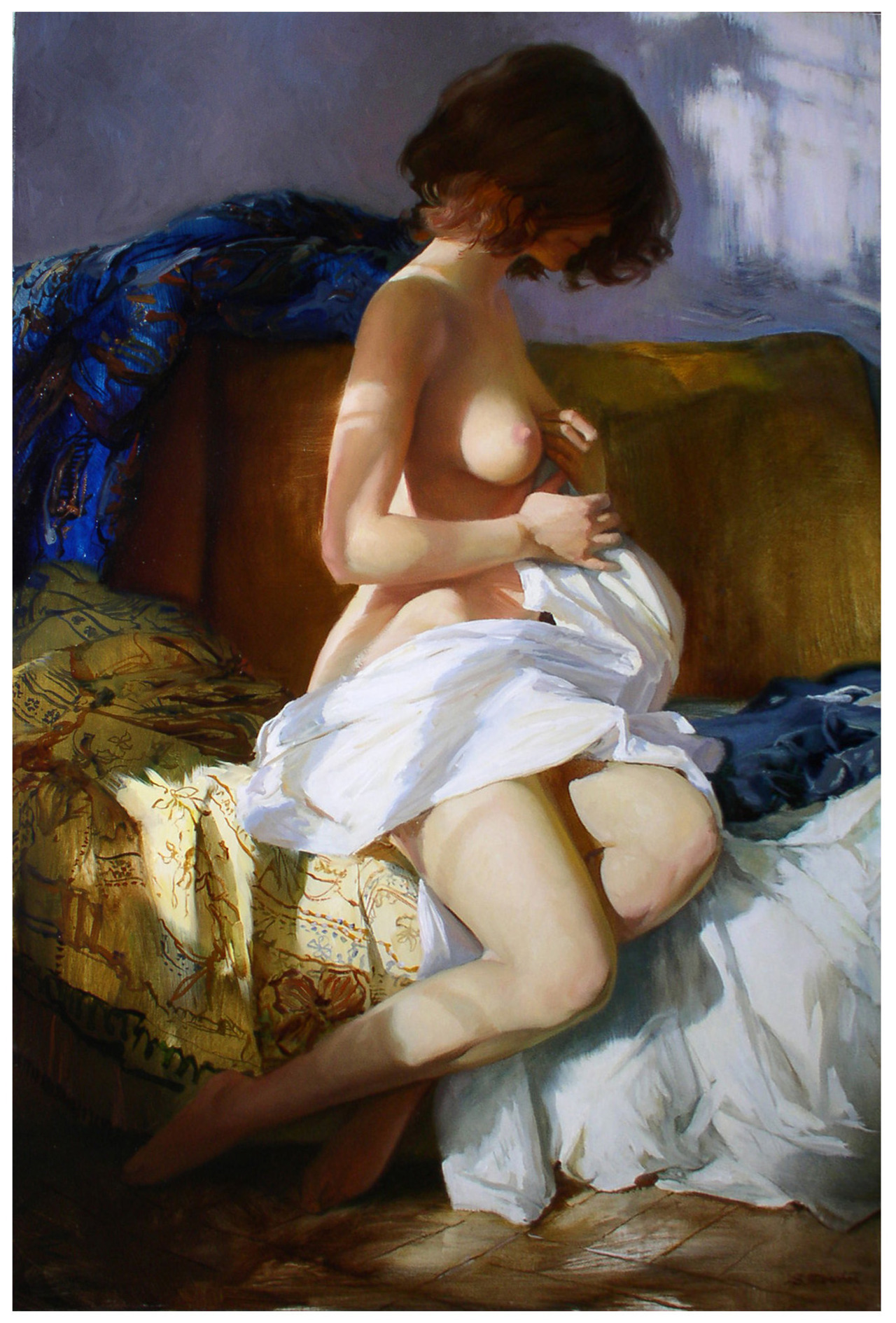 serge marshennikov, 017. 2004 light and shadow 70x47cm