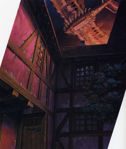 animationtidbits:  Howl's Moving Castle - Backgrounds