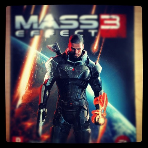 There ain't no sunshine… #masseffect3  (Taken with instagram)