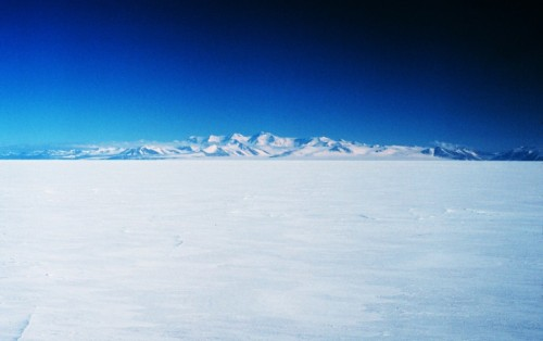 Royal Society Mountain Range in the Transantarctic Mountains across from McMurdo Sound on Ross Island. 78 10 S Latitude 162 40 E Longitude. (via NOAA)