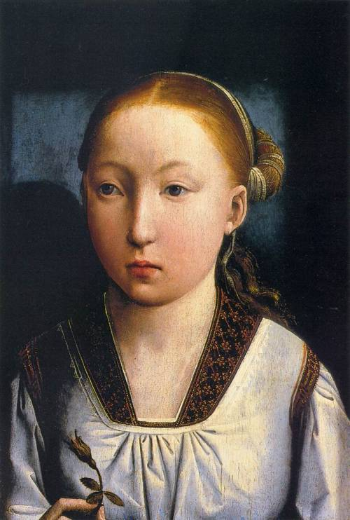 Juan de Flandes, Portrait of an Infanta, 1496.