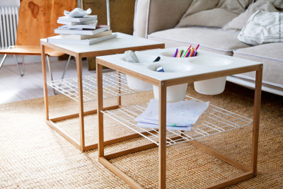 fromscandinaviawithlove:  Tables from Ikea PS coming in May. Photo from Ikea.