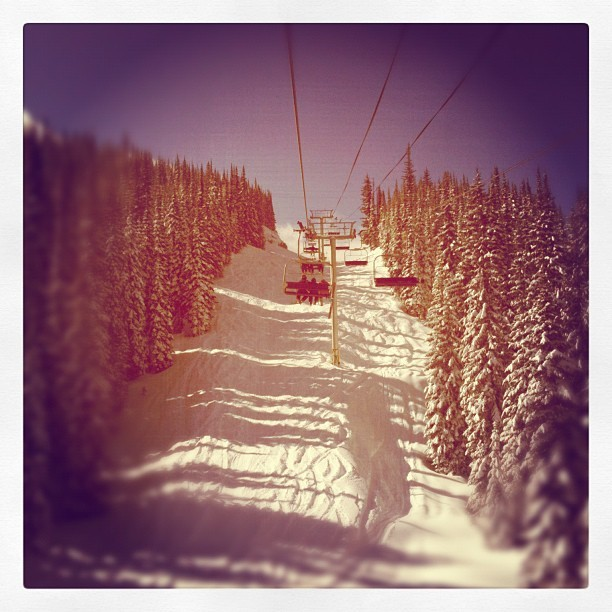 22cm's and sun at Silver Star! (Taken with instagram)
