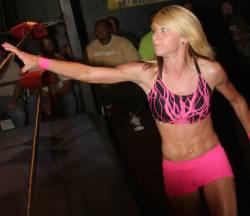 Angel Dust D. Amanda Ruffen - Wrestlinwally.com