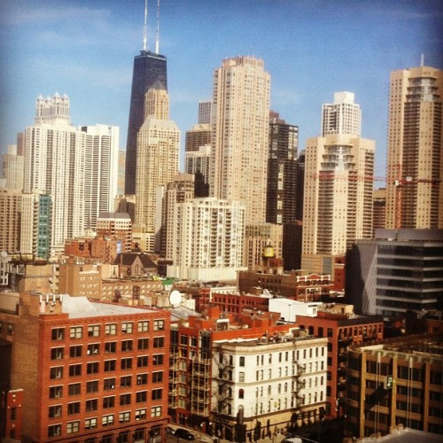 Cool view. Pics for WSJ (Taken with Instagram at @1871)