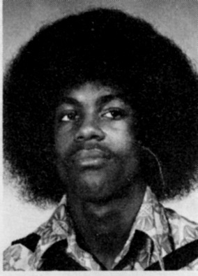 hclib:  Prince Rodgers Nelson, Sophomore, 1974 Central High School Yearbook