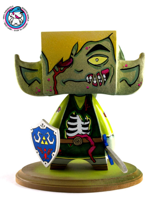 Undead Link MAD*L by Richard Patterson For the Vinyl Thoughts 2 artshow.