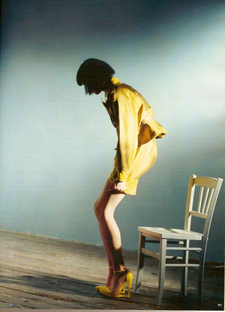 seacow:  by sophie delaporte, vogue deutsch january 2007.