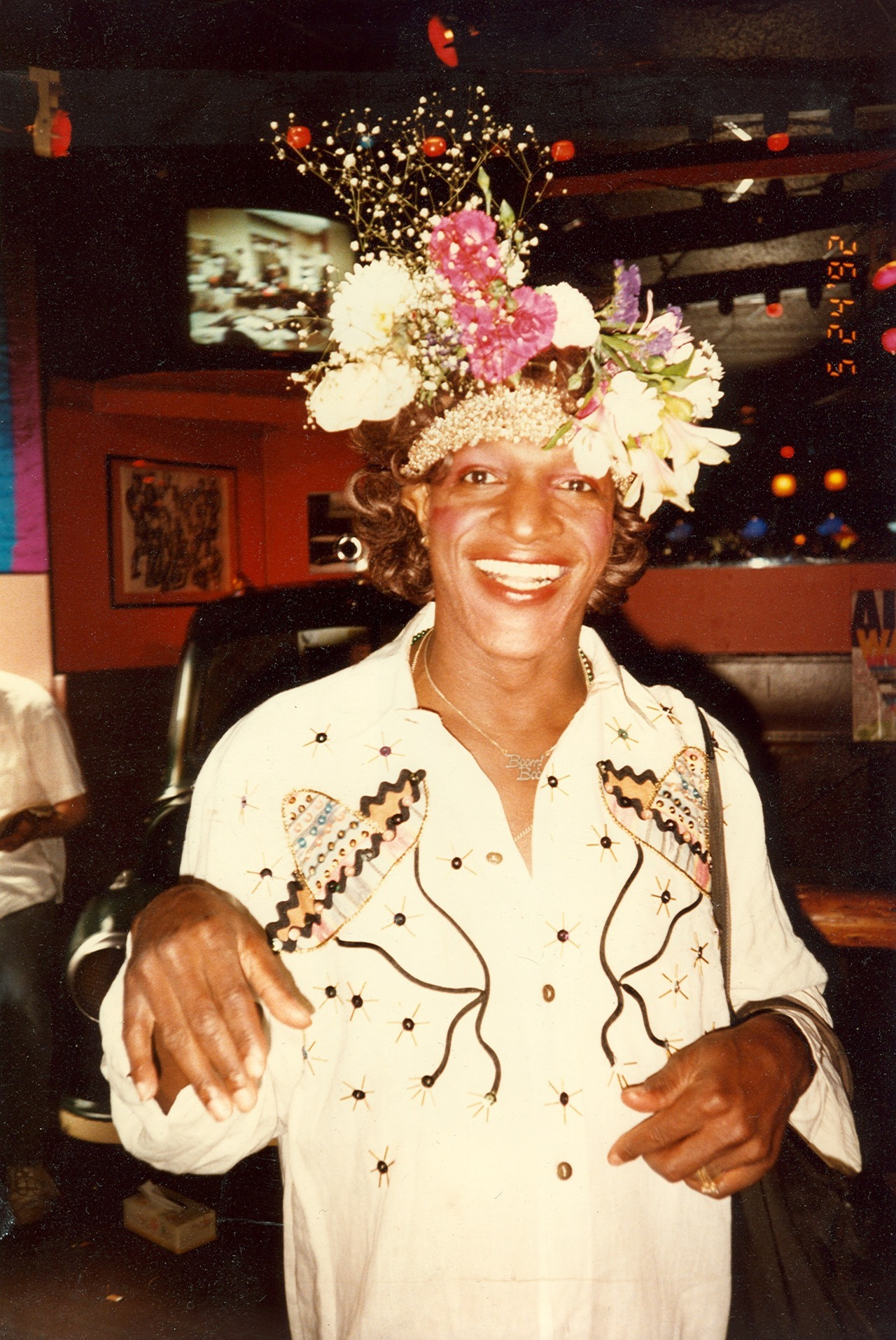 Marsha P Johnson photo by Randy Wicker