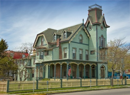 Victorian b&b in Cape May, NJ