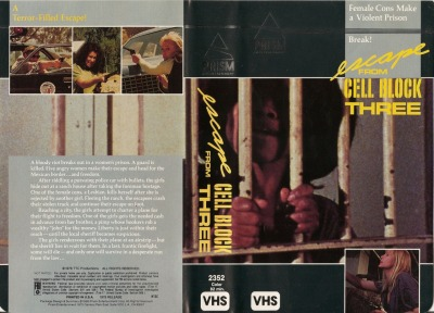 Escape From Cell Block Three AKA Women Unchained (1974) - Prism Entertainment Read a hilarious review here: http://jowskireviews.geekjuicemedia.com/2012/02/escape-from-cellblock-threewomen.html