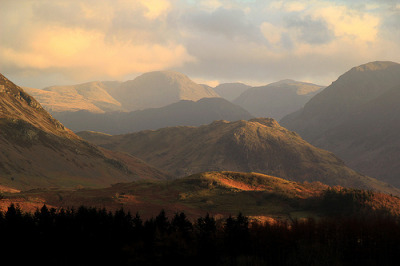 "rebloggingforscience:  ""Last Light across the Fells"" by lakeslover2010 on Flickr"