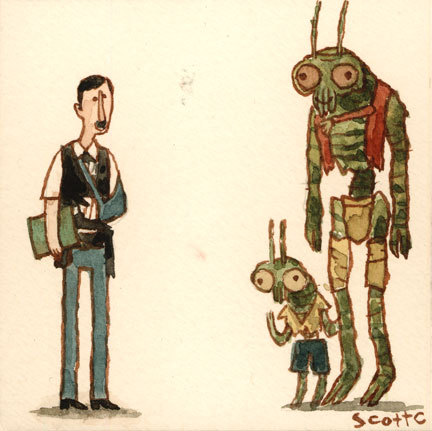 """""""So you have a little one there, eh? Do you have a license for that little one?"""" SCIENCE FICTION WEEK: Day 4"""