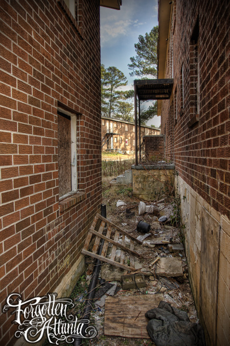 Abandoned Projects, West side ~ #ForgottenAtlanta