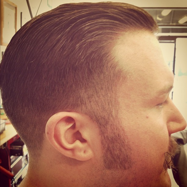 #haircut #belmontbarbershop #barberlife #chicago (Taken with Instagram at Belmont Barbershop)